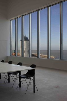 The Clore Learning Studio at Turner Contemporary, Margate Margate England, Turner Contemporary, David Chipperfield Architects, Historical Art, Seaside Towns, Image Photography, Interior Architecture, Museums, Gallery