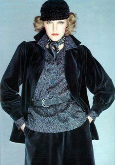1974 - Saint Laurent Vogue Paris by Barbieri