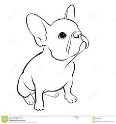 Illustration about Bulldog dog animal french vector illustration pet breed cute drawing. Illustration of grey, bulldog, friend - 89596808 French Bulldog Drawing, French Bulldog Tattoo, French Bulldog Blue, French Bulldogs, French Grey, Puppy Gifts, Pet Breeds, Dog Illustration, Oui Oui