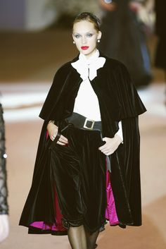Yves Saint Laurent at Couture Spring 2002 - Livingly                                                                                                                                                     More