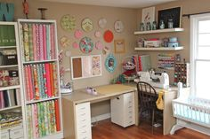 OMG. I finally am posting pictures of my new sewing studio. It's about time, right? I only moved into it 5 months ago. So just to forewarn you, this post is long. And I mean LONG. Aaaand picture heavy….very picture heavy. But I wanted to try to give you the best tour possible since this …