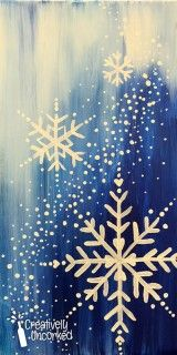 Snowflakes | Creatively Uncorked | http://creativelyuncorked.com | Creatively Uncorked | http://creativelyuncorked.com