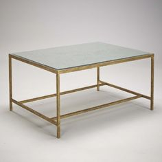 Stock Boston Coffee Table - Or | ROBERT.LANGFORD.LONDON