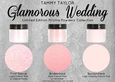 "Introducing the new Tammy Taylor ""Glamorous Wedding"" Prizma Powderz Collection!"
