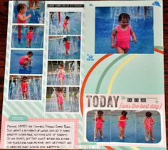 Scraplifter Designs - PROJECT Life - 365: Splash - New Layout LOAD #8 & 9