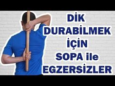 Dik Durabilmek için Sopa ile Egzersizler – 1 Exercises with Stick to Stand Upright – 1 15 Minute Morning Yoga, Morning Yoga Routine, Race Training, Strength Training, Trx, Men's Health Fitness, Mantra, Best Workout Plan, Flexibility Workout