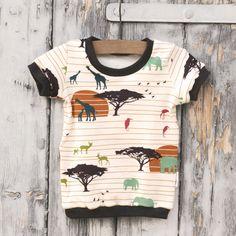 Safari tričko vel. 86 390kč Safari, Mens Tops, Kids, T Shirt, Fashion, Young Children, Supreme T Shirt, Moda, Boys