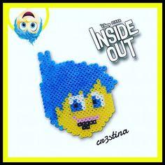 Joy - Inside Out hama perler beads by cr3stinayoutube
