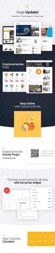 The world is obsessed with cryptocurrencies, miners, bitcoins, ethereum, cryptocurrency exchange, mining rig, mining farms. They ask: what is a mining rig? how to mine Bitcoin?  This theme is perfect for: cryptocurrency blog, bitcoin blog, cryptocoach, cryptocurrency accessories shop, online magazine, crypto coach, blockchain specialist, financial advisor, business consultant, mining equipment sellers.