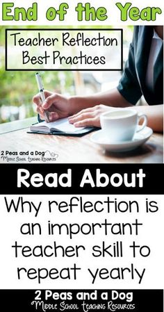 The end of the year is a great time to take to reflect on the past year's successes and challenges. Use these reflections to help plan out changes for your future classes. Includes a FREE graphic organizer to help teachers reflect on their school year from the 2 Peas and a Dog blog.