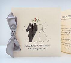 Mr & Mrs Christmas Invitation £3.50
