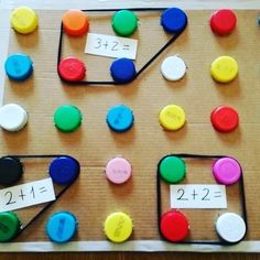 Math Board Games, Math Boards, Math Games, Preschool Activities, Preschool Learning, Kindergarten Math, Teaching Math, Math Math, Multiplication