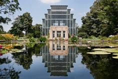 The Jewel Box, a display greenhouse in Forest Park, St. Louis, MO #stl #architecture