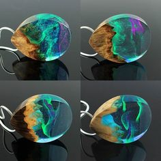Atempting to recreate a multicolored aurora borealis is proving to be quite the challenge. . Which one is your favorite?