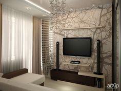 Гостиная-кухня: интерьер, квартира, дом, гостиная, современный, модернизм, 20 - 30 м2 #interiordesign #apartment #house #livingroom #lounge #drawingroom #parlor #salon #keepingroom #sittingroom #receptionroom #parlour #modern #20_30m2 arXip.com