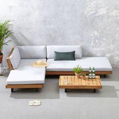 whkmp's own loungeset Luciana Sofa Lounge, Lounge Furniture, Home Decor Furniture, Pallet Furniture, Furniture Design, Garden Furniture, Wooden Sofa Designs, Sofa Set Designs, Living Room Sofa