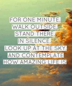 Contemplate this amazing life. #Love #Inspire #Gratitude #Quotes