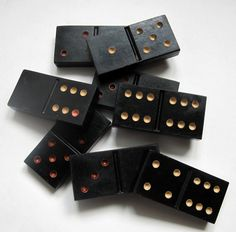 Vintage bakelite Dominoes in original plastic box made in USSR on Box measurements are x inch cm) Good vintage condition with Dinner Party Games, 1970s, Vintage Items, Buy And Sell, Plastic, Group, Box, How To Make, Handmade