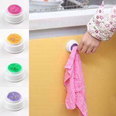 1PCS Wash cloth clip holder clip dishclout storage rack bath room storage hand towel rack Hot 2017