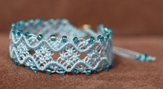 One more bracelet. I have great fun making them.