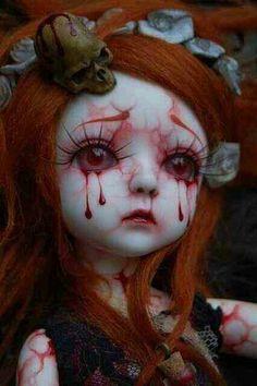 Spooky dolls