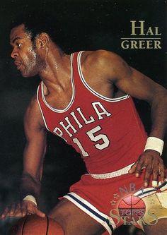 RARE 96/97 TOPPS NBA STARS HAL GREER PHILADELPHIA 76ers MINT