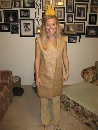 Paper Bag Princess costume!