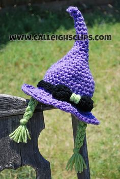 Ravelry: Crafty Witch Hat and Cuddle Cape Set pattern by Elisabeth Spivey  $5.95