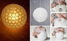 luminária japonesa - Está já fiz!