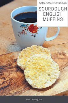 Sourdough Starter Discard Recipe, Dough Starter Recipe, Sourdough Recipes, Starter Recipes, Bread Recipes, Sourdough English Muffins, Sourdough Pancakes, English Muffin Recipes, Most Delicious Recipe