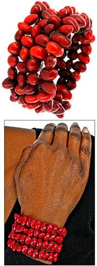 beans! Amazon Harvest Bracelet at The Hunger Site