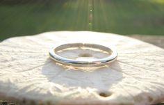Art Deco Wedding Band Tiffany & Co. Platinum Ring by Franziska, $528.00