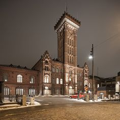 The old fire station in Korkeavuorenkatu, Helsinki | by arnd Dewald