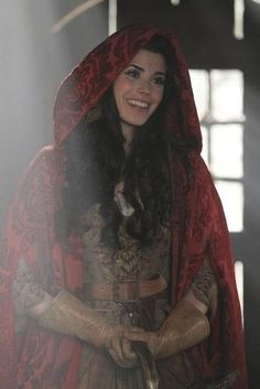 Once Upon a Time - Red Riding Hood played by Meghan Ory. #OnceUponATime #OUAT #TV_Show