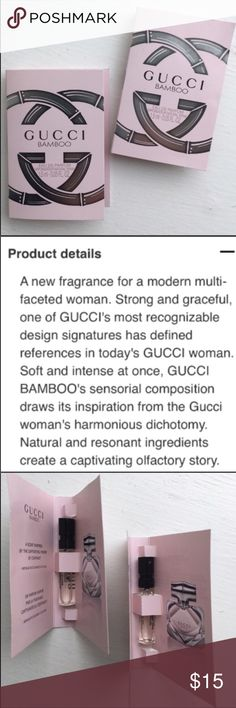 💗NEW!💗Gucci 2Pc Bamboo Set NEW! 💗NEW!💗Gucci 2Pc Bamboo Set NEW! 💯Authentic! NEW!   Bamboo represents the Modern Woman who is Strong & Graceful!  ALL BRAND NEW & UNTOUCHED! 🚫Trades🚫2Pc Bundled Price Firm! Gucci Makeup