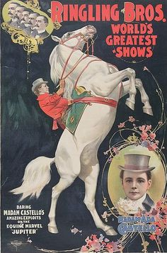 Vintage Circus Poster 1899 Ringling Bros Circus greatest show on earth Carnival Poster Child& Game Room Fine Art Print home wall decor by VintageImageryX Old Circus, Circus Show, Circus Art, Circus Train, Dark Circus, Ringling Brothers Circus, Ringling Circus, Vintage Circus Posters, Carnival Posters