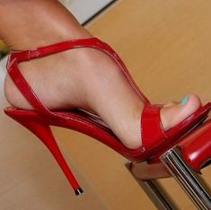 high heels – High Heels Daily Heels, stilettos and women's Shoes Strappy Sandals Heels, Hot Heels, Sexy Heels, Stilettos, Stiletto Heels, Pumps, Sandals Outfit, Open Toe High Heels, Red High Heels