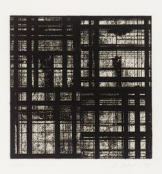 Brice Marden  Etching and aquatint on paper  1979