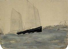 Two Masted Yawl Alfred Wallis (1855–1942)