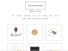 DeluxeModern.com | Love the simple portfolio page