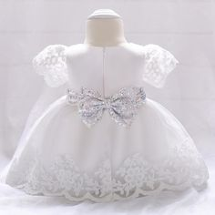 Baby Girl Dress Lace white Baptism Dresses for Girls Year Birthday Party Wedding Christening Baby Infant Communion Clothing White Baptism Dress, Girls Baptism Dress, Wedding Dresses For Girls, Girls Party Dress, Baby Girl Dresses, Baby Dress, Pink Dress, Flower Girl Dresses, Dress Lace