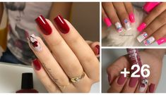 Unhas com Flores1 Nails, Look, Beauty, Nail Art Flowers, Flower Nails, Party Nails, Ring Finger, Pedicures, Nail Designs