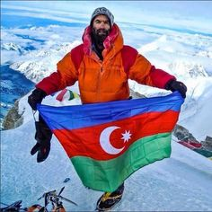 Azerbaijani flag in safe hands