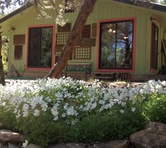 The Studio at Willowtail in Spring.  Willowtail, Mancos, Colorado