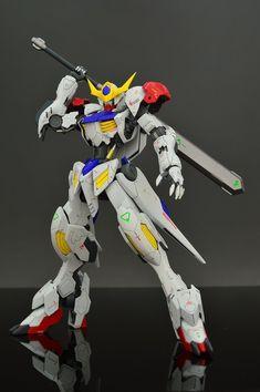 GUNDAM GUY: HG 1/144 Gundam Barbatos Lupus - Customized Build