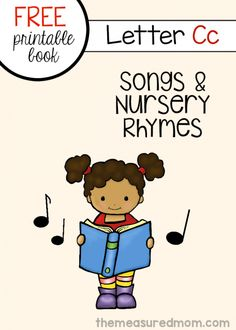 Letter C Rhymes and Songs - free letter book