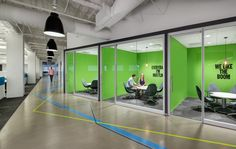 A Look Inside Rocket Fuel's New Chicago Office - Officelovin