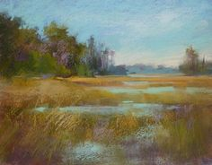 Top Adventures of 2013...Painting in the Lowcountry, painting by artist Karen Margulis