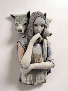 Joe Kowalczyk, ceramic sculpture - ego-alterego.com