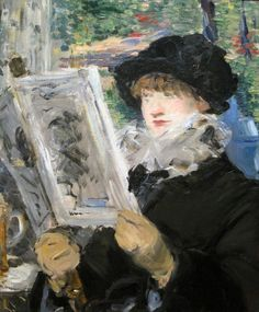 Edouard Manet: Woman Reading (1879-80)